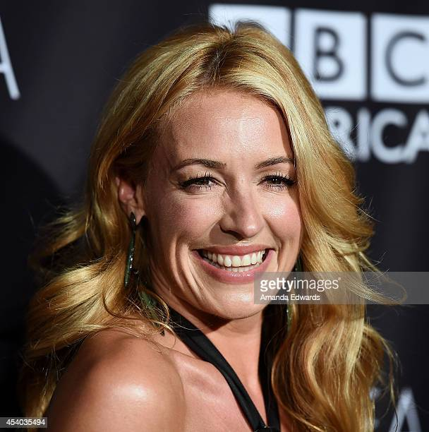 Television personality Cat Deeley arrives at the BAFTA Los Angeles TV Tea presented y BBC and Jaguar at SLS Hotel on August 23, 2014 in Beverly...