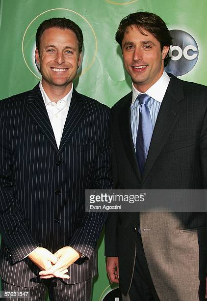 Television personality Chris Harrison and Lorenzo Borghese attend the ABC Television Network Upfront at Lincoln Center May 16, 2006 in New York City.