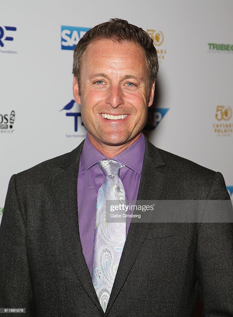Television personality Chris Harrison attends the third annual Tyler Robinson Foundation gala benefiting families affected by pediatric cancer at Caesars Palace on September 30, 2016 in Las Vegas, Nevada.