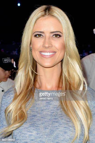 Television personality Christina El Moussa attends AllStar Chef Classic at LA Live Event Deck on March 11 2017 in Los Angeles California