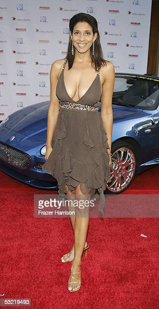 Television personality Christine Devine attends the HollyRods Designcure 7th Annual Benefit and fashion show featuring designs by Pamela Dennis at...