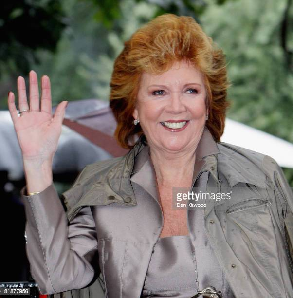 Television personality Cilla Black attends Sir David Frost's Summer Party at Carlyle Square on July 09 2008 in London England