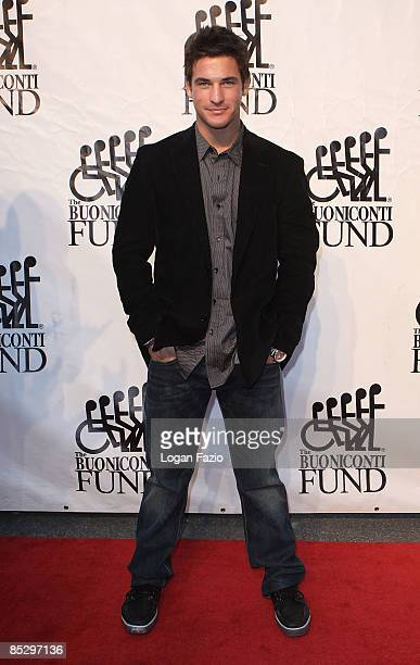 Television personality Clay Adler attends Destination Fashion 2009 to benefit The Buoniconti Fund to Cure Paralysis at Bal Harbour Shoppes on March 7...