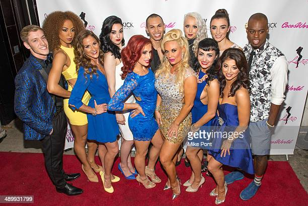 Television Personality Coco Austin and The Vanity Vixens attend Coco The Vanity Vixens at Highline Ballroom on May 12 2014 in New York City