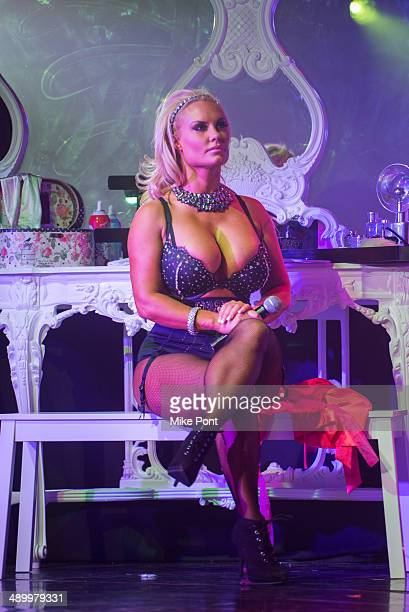 Television Personality Coco Austin performs during Coco The Vanity Vixens at Highline Ballroom on May 12 2014 in New York City