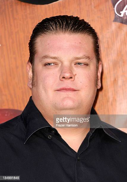 """Television personality Corey Harrison of """"Pawn Stars"""" arrives at the American Country Awards 2011 at the MGM Grand Garden Arena on December 5, 2011..."""