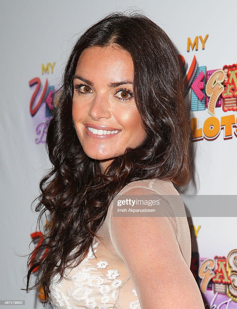 Television Personality Courtney Robinson Attends The MyVegas Las Vegas Extravaganza Hosted By Cast Members Of