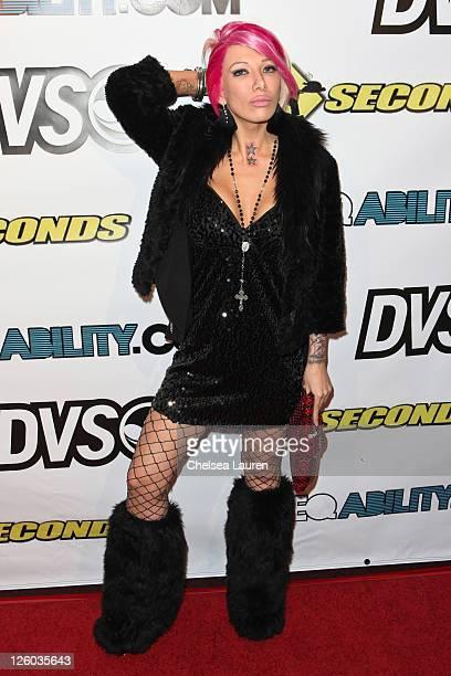 Television personality Daisy De La Hoya arrives at Cinespace on December 16 2010 in Los Angeles California
