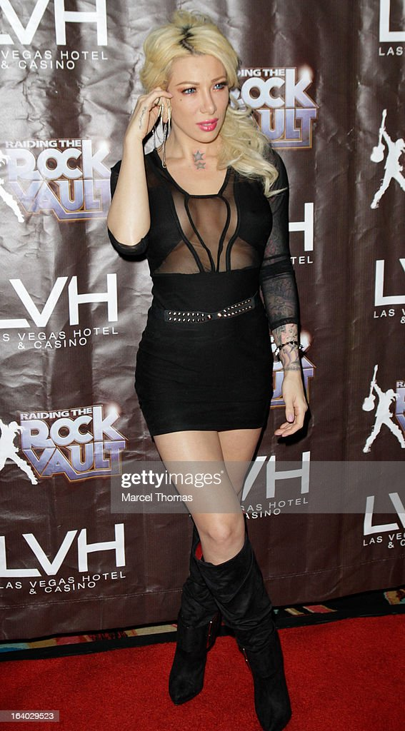 Raiding The Rock Vault VIP Opening Night And Red Carpet : News Photo