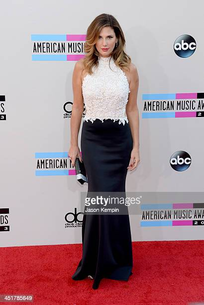 Television personality Daisy Fuentes attends the 2013 American Music Awards at Nokia Theatre LA Live on November 24 2013 in Los Angeles California