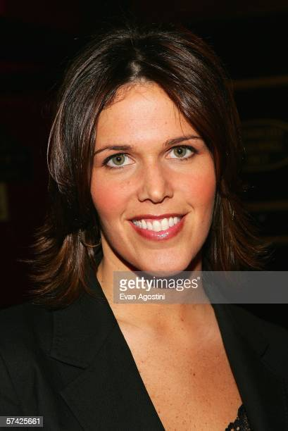 Television personality Dana Jacobson arrives at the premiere of United 93 during the Fifth Annual Tribeca Film Festival at the Ziegfeld Theatre April...