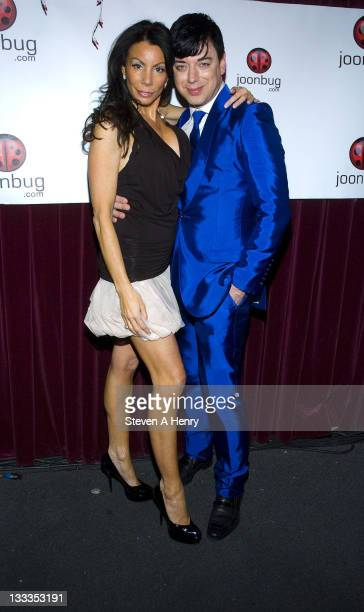 Television personality Danielle Staub and designer Malan Breton attend the New Year's Eve 2010 celebration at the China Club on December 31 2009 in...