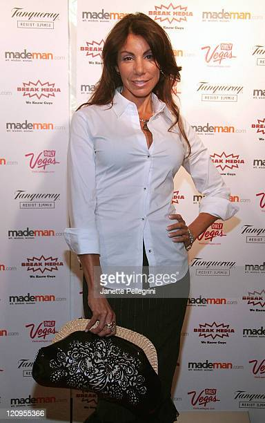 Television personality Danielle Staub attends the 1st Annual MadeMancom Trailblazer Awards on July 29 2009 in New York City