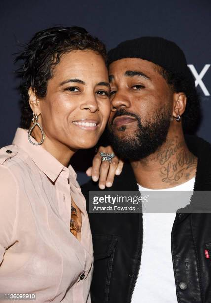 Television personality Daphne Wayans and rapper Jason Martin arrive at the GENLUX Issue Release Party hosted by Kristin Cavallari and Carly Steel on...