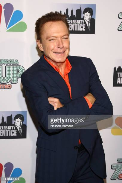 Television personality David Cassidy attends The Celebrity Apprentice Season 4 Finale at Trump SoHo on May 22 2011 in New York City