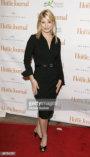 Television personality Dayna Devon arrives at Ladies Home Journal's Funny Ladies We Love at the Cabana Club on February 6 2006 in Los Angeles...