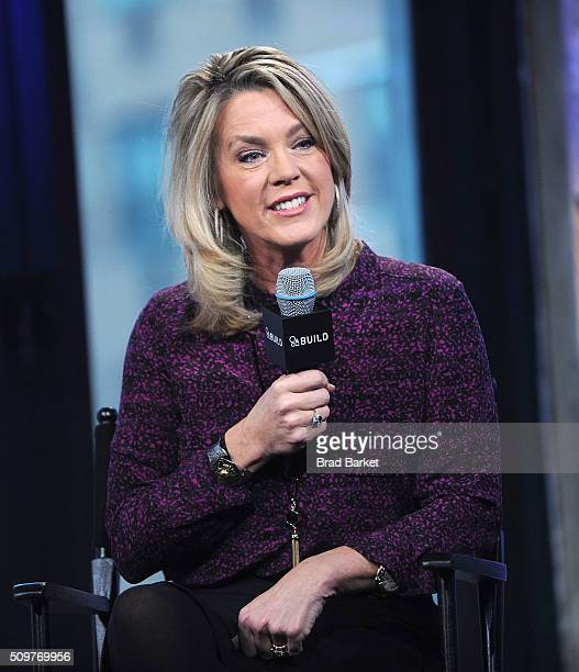 Television Personality Deborah Norville attends AOL Build Speaker Series Deborah Norville 'Inside Edition' at AOL Studios In New York on February 12...