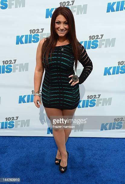 Television Personality Deena Cortese arrives at 1027 KIIS FM's Wango Tango at The Home Depot Center on May 12 2012 in Carson California