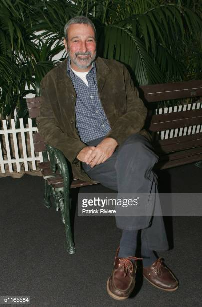 """Television personality Don Burke at the lauch of the book named after the television show """"Backyard Blitz"""" at the Museum of Cotemporary Art August..."""