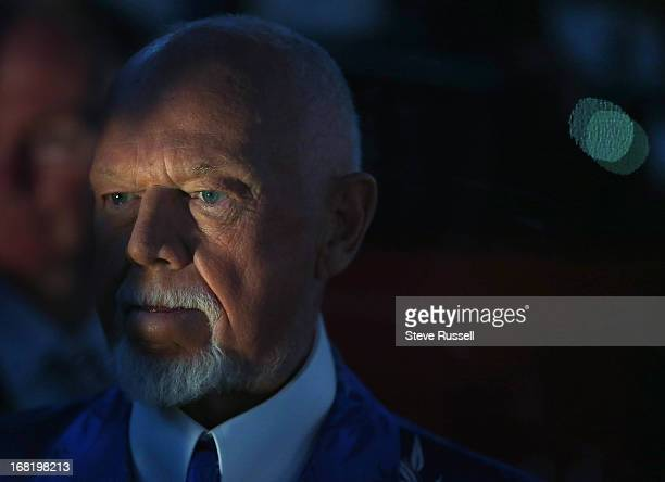 TORONTO ON MAY 6 Television personality Don Cherry before the game as the Toronto Maple Leafs drop game 3 to the Boston Bruins 52 and now trail the...