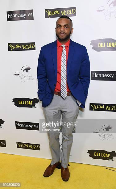Television personality Don Juan attends Dej Loaf 25th Birthday Celebration at Ventanas on April 8 2016 in Atlanta Georgia