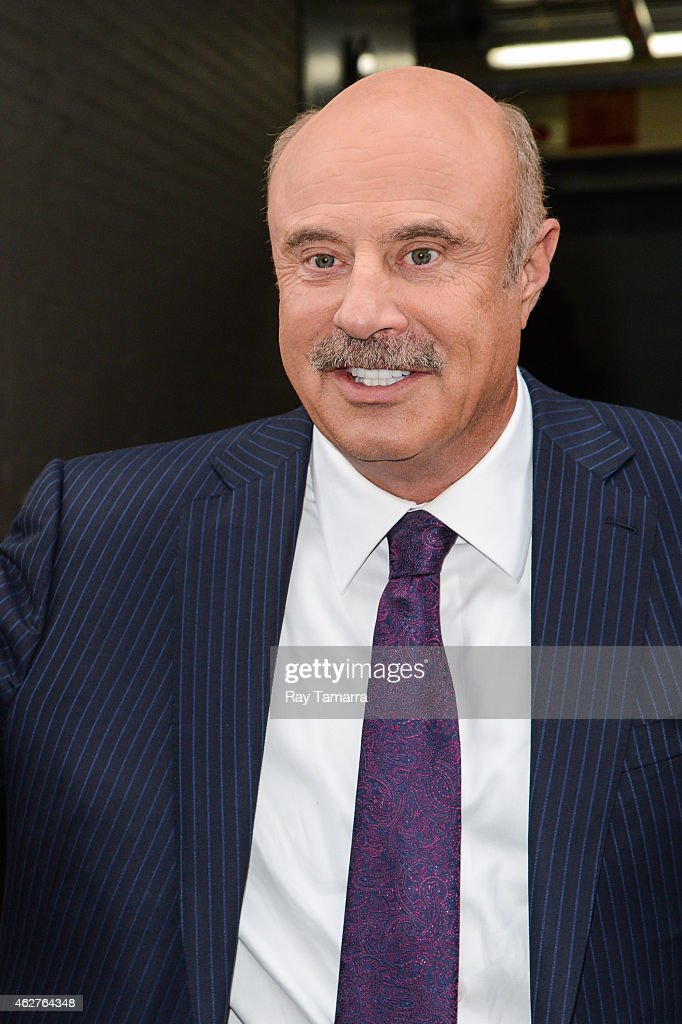 Television personality Dr  Phil McGraw leaves the