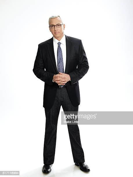 Television personality Drew Pinsky also known as Dr Drew is photographed for Simon Schuster on December 1 2010 in Los Angeles California