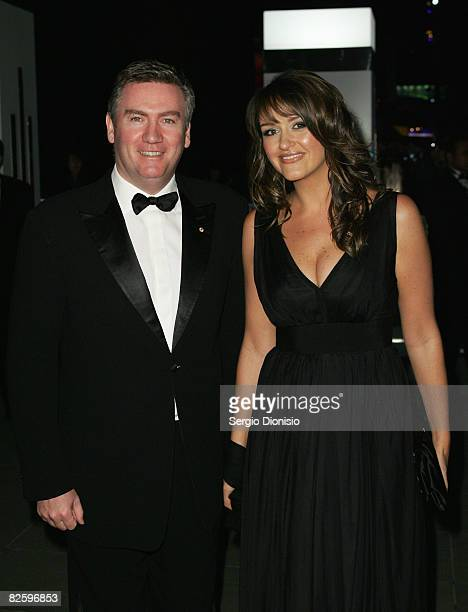 Television personality Eddie McGuire and his wife Carla attend a gala dinner for The Alannah and Madeline Foundation at the National Gallery of...