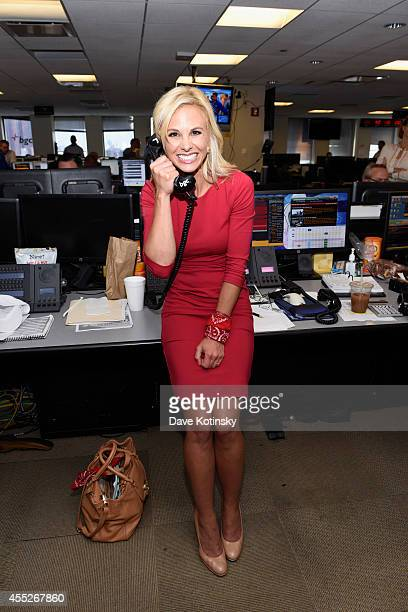 Television personality Elisabeth Hasselbeck attends Annual Charity Day Hosted by Cantor Fitzgerald and BGC at BGC Partners INC on September 11 2014...