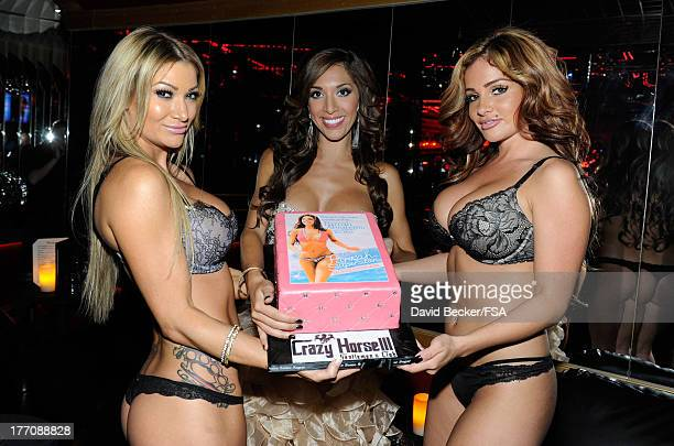 Television personality Farrah Abraham appears at the Crazy Horse III Gentlemen's Club to host the 2013 Gentlemen's Club EXPO Tradeshow kick off party...