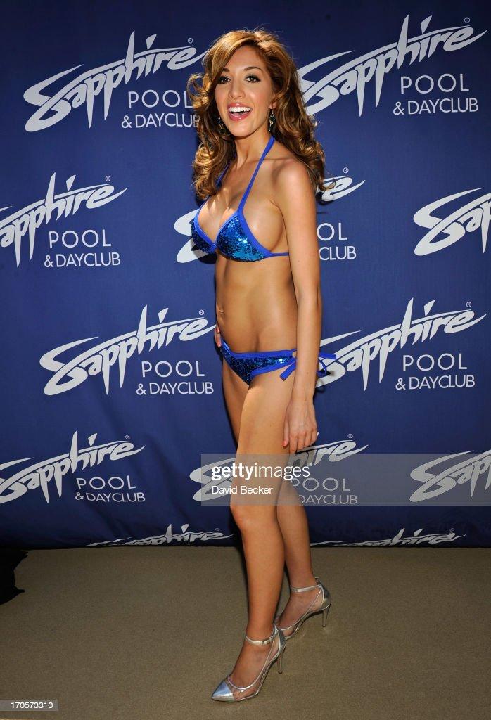 Farrah Abraham Hosts The Sapphire Pool & Day Club