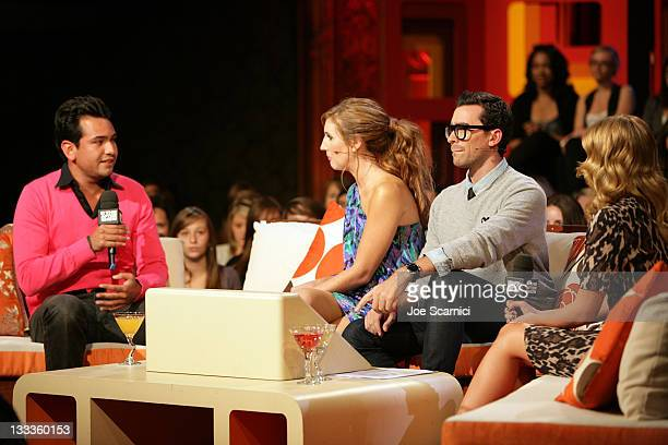 Television personality Frankie Delgado hosts Dan Levy and Jessi Cruickshank and television personality Lo Bosworth attend the The Hills' Kristin Lo...