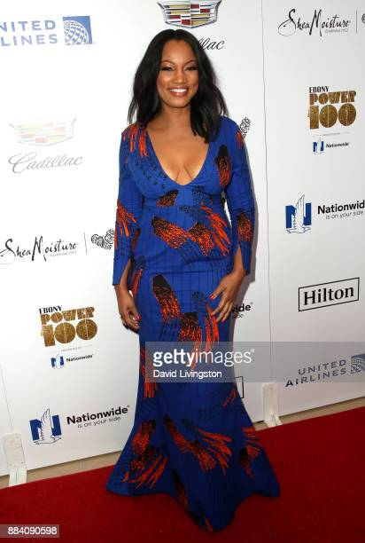 Television personality Garcelle Beauvais attends Ebony Magazine's Ebony's Power 100 Gala at The Beverly Hilton Hotel on December 1 2017 in Beverly...
