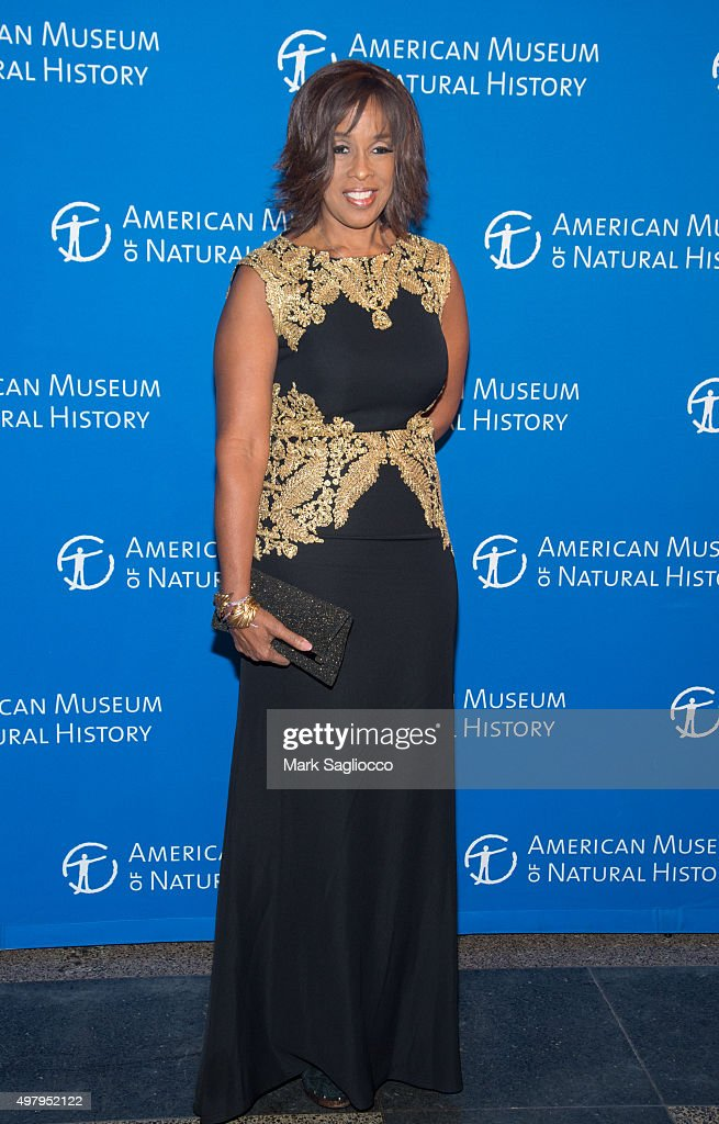 Television Personality Gayle King attends the 2015 American Museum Of Natural History Museum Gala at American Museum of Natural History on November 19, 2015 in New York City.