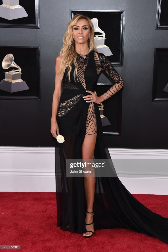 Television personality Giuliana Rancic attends the 60th Annual GRAMMY Awards at Madison Square Garden on January 28, 2018 in New York City.