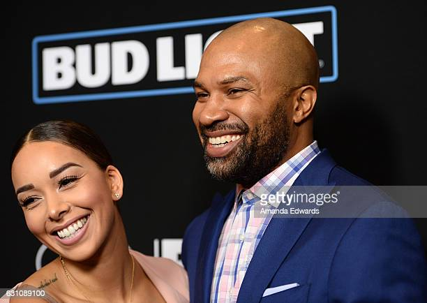 Television personality Gloria Govan and former NBA player Derek Fisher arrive at the premiere of Open Road Films' Sleepless at the Regal LA Live...