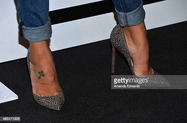 Television personality Gloria Govan arrives at the Republic Records Post GRAMMY Party at 1 OAK on January 26 2014 in West Hollywood California