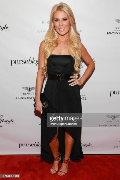 Television personality Gretchen Rossi attends the Beverly Hills Lifestyle 5 Year Celebration at Sofitel Hotel on June 6 2013 in Los Angeles California