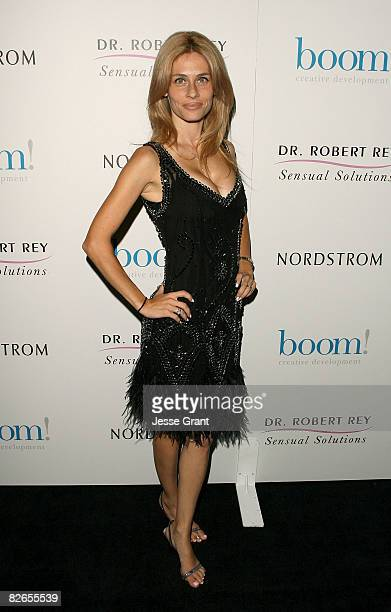 """Television personality Hayley Rey arrives at the launch party for """"Sensual Solutions"""" at the Thompson Hotel on September 3, 2008 in Beverly Hills,..."""