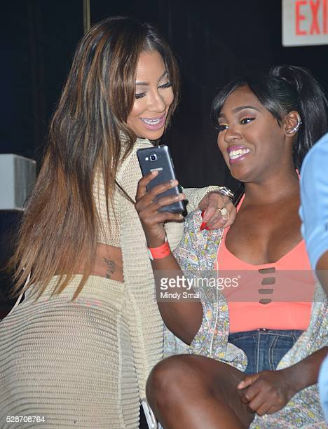 Television personality HazelE attends rapper Yo Gotti's performance at Ditch Fridays at Palms Pool Dayclub on May 6 2016 in Las Vegas Nevada