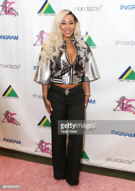 Television personality HazelE attends the HazelE Lil' Fizz and Brittani Williams book signing for Girl Code and No Excuses at Barnes Noble at The...