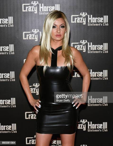 Television personality Heather Marianna attends the Crazy Horse III Gentlemen's Club's NEON Flow holiday party on December 14 2017 in Las Vegas Nevada