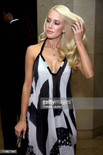 Television personality Heidi Montag arrives at the 7th Annual Operation Smile Gala at the Beverly Hilton on September 18 2008 in Beverly Hills...