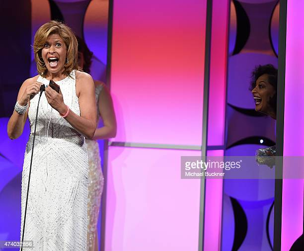 Television personality Hoda Kotb attends the 40th Anniversary Gracies Awards at The Beverly Hilton Hotel on May 19 2015 in Beverly Hills California