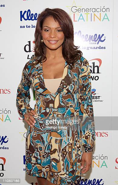 Television personality Ilia Calderon attends at the Selecciones Generation Latino 2007 at Bongos on October 3 2007 in Miami Florida