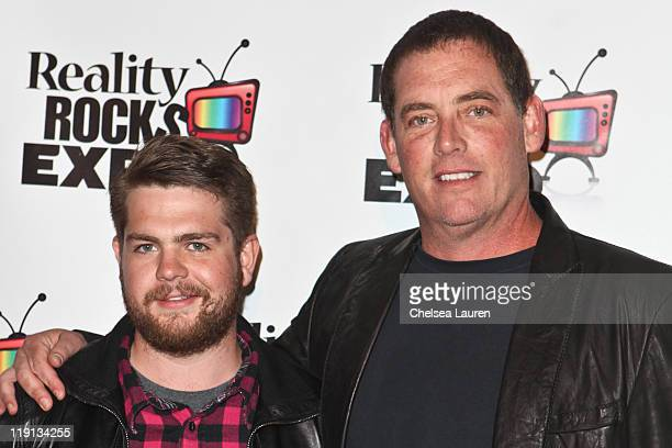 Television personality Jack Osbourne and producer Mike Fleiss arrive at the 2011 Reality Rocks Awards at Los Angeles Convention Center on April 10...