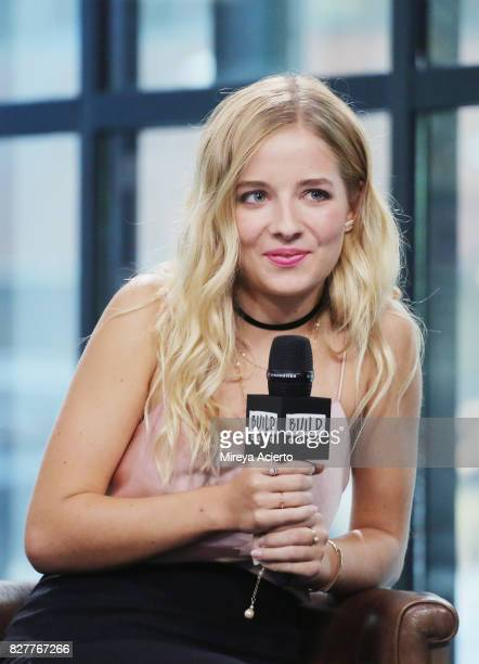 Television personality Jackie Evancho visit Build to discuss the show Growing Up Evancho at Build Studio on August 8 2017 in New York City
