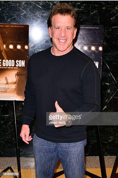 """Television personality Jake Steinfeld arrives at the Los Angeles premiere of """"The Good Son"""" at Linwood Dunn Theater at the Pickford Center for Motion..."""