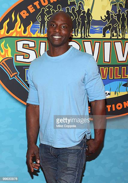 Television personality James Clement attends the Survivor Heroes Vs Villains finale reunion show at Ed Sullivan Theater on May 16 2010 in New York...