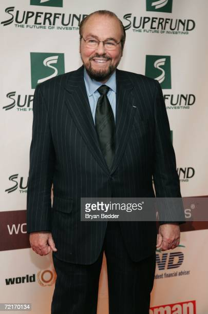 Television personality James Lipton poses in the media room backstage at the 3rd Annual Women's World Awards at Hammerstein Ballroom October 14 2006...